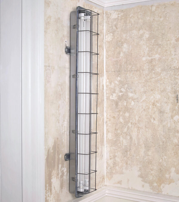 4ft Caged Wall Light