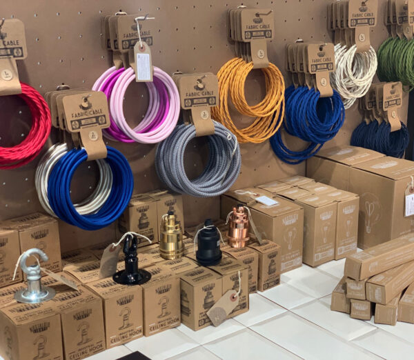 Coloured Lighting Cable